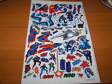 DC COMICS SUPERMAN 1993 THE MAN OF STEEL #30 COMIC BOOK SUPPLEMENT STICKER SHEET