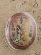 Talisman Lp Key Festish Thai Amulet Love Charm Fertility Attract Erotic 6189 D5