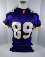 1999 Minnesota Vikings Matthew Hatchette #89 Game Issued Purple Jersey