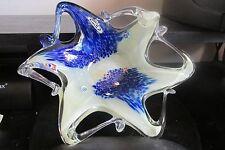 VETRO ESEGUITO SECOND LA TECHIE DEL MAESTRI DI MURANO STAR FISH BOWL