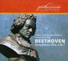 Beethoven: Symphonies Nos. 4 & 7 Ludwig van Beethoven, Nicholas McGegan, Philha
