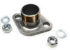"""Honda GX 160 & 200, Duromax 7HP 3/4"""" SS Male Thread Pipe with Exhaust Flange."""