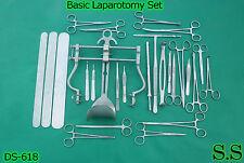 Basic Laparotomy Set of 81 Surgical Instruments,DS-618