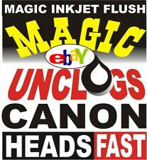 How to FIX UNCLOG Canon i860 iP4000 MP780 MP760 print head. New ink cleaner