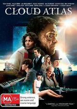 Cloud Atlas (DVD, 2013) // Ex-Rental // No Cover // Disc & Case only