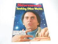 AUG 15 1977 NEWSWEEK vintage news magazine - CARL SAGAN ASTRONOMER