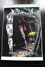 FAUSTUST ''SHADOW OUT OF TIME'' POSTER PRINT ART WORK BY JOE VIGIL