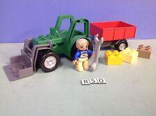 (R50) Duplo Tracteur vert ref 4687