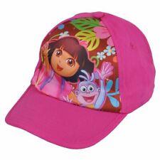 Nickelodeon Dora the Explorer Child Kids Satin Print Adjustable Snapback Hat Cap
