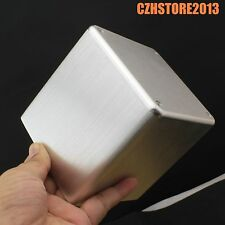 Full Aluminum Vintage Tube Amplifier Transformer Enclosure Protect Cover Case