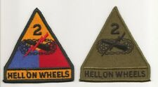 2nd Armored Division patch  set