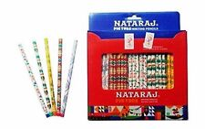 100x NATARAJ PICTURE WRITING PENCIL Superior Bonded Lead HB |school home office