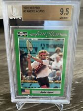 1991 Andre Aggasi Rookie Card BGS 9.5 🎾🔥🔥🔥 - Perfect Centering