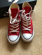 Red All Star High Tops Converse 6 (39)