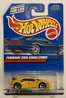 2000 Hotwheels Ferrari F355 355 Challenge Yellow! Very Rare! Mint! MOC!