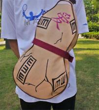 Anime Naruto Gaara Gourd Shoulder Backpack PU Messenger Bag Cosplay Prop Gift