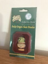 "Pocket Dragons ""Cookie Jar!"" Brooch"