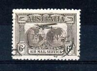 Australia 1931 6d Kingsford Smith Air Stamp FU CDS