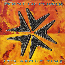 POINT OF POWER - IT'S ABOUT TIME NEW CD