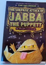 Star Wars Kid Book ORIGAMI YODA SERIES Jabba Puppet book *BRAND NEW*