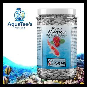 *REPACK* Seachem Pond Matrix 1L High Capacity Filtration Control Ammonia Nitrate