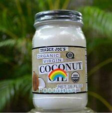 Trader Joe's Organic Virgin Coconut Oil 16 FL OZ