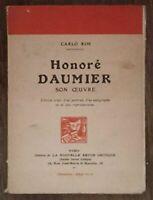 Honoré Daumier : Document pour l'histoire de la littérature française