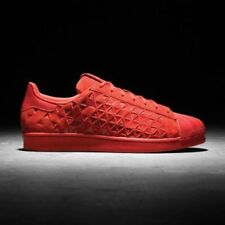 adidas SUPERSTAR XENO Vivid MONO Red Reflective shell toe Originals AQ8181 11