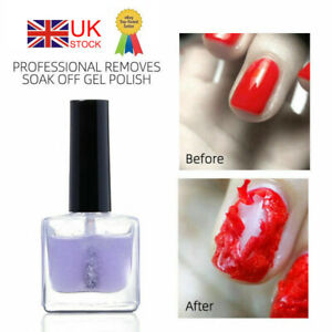 Soak Off 12ML Gel Nail Polish Burst Remover Gel Lacquer Cleaner Manicure Art DIY