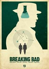 Heisenberg White Art Posters