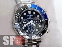 Seiko Solar Quartz Chronograph Men's Watch SSC017P1 SSC017