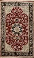 Floral Traditional Chinese Wool/ Silk Area Rug Hand-knotted Classic 6x9 Carpet
