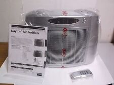 NEW Portable Air Cleaner 120 VAC 3 Speed HEPA 27/49/78 CFM with Remote (D53)