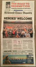 2019 Virginia UVA Cavaliers Basketball National Champions Special RTD Newspaper