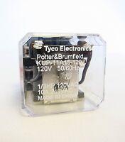TYCO Potter & Brumfield KUP-11A15-120 KUP11A15-120 Relay 120V 50/60Hz