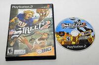 NFL Street 2 Black Label (Sony PlayStation 2, 2004) In Box
