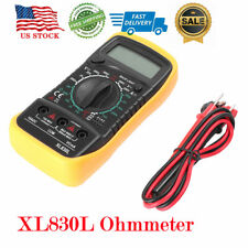 Multimeter Digital Lcd Xl830l Voltmeter Ammeter Ohmmeter Ac Dc Tester Meter Us