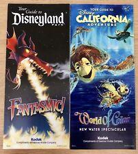 Disneyland Resort Park Guide Maps 2010 Summer Nightastic