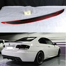 REAL CARBON FIBER FOR BMW E92 P TYPE Trunk Spoiler Wing 335i M3 2D Coupe SPORT