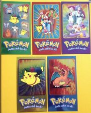 POKEMON TOPPS CHROME SUPERSIZE CARDs COMPLETE SET of 5, SERIES 2 - NEW & SEALED
