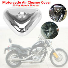 Motorcycle Chrome Air Cleaner Filter Cover Fit For Honda Shadow VT600C/CD VT400