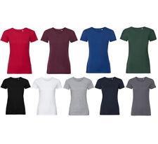 Organique T-Shirt Bio Coton Manches Courtes Haut Shirt Col Rond Slim Fit