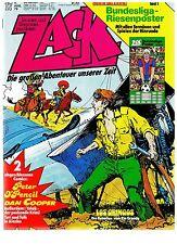 Zack Nr.17 / 1979 Mit Zack Magazin & Bundesliga-Poster