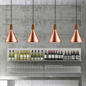 Wood Pendant Light Bar Ceiling Lights Bedroom Lamp Kitchen Chandelier Lighting