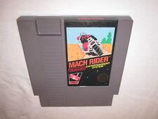 Mach Rider (Nintendo NES) 5 Screw Game Cartridge Excellent
