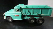 Buddy L Pressed Steel Tandem Axle Dump Truck