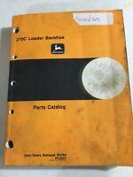 John Deere 210C Loader Backhoe Parts Catalog