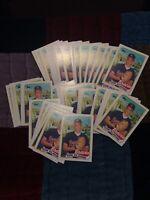 1989 Topps Tom Glavine 50 Card Lot Atlanta Braves Cy Young Winner. Hall Of Fame