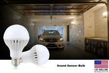 E27 5W Dusk to Dawn Auto Sensor Smart Light Bulb Energy Saving LED Garden Lamp