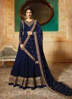 Kameez Salwar Indian Pakistani Suit Designer Dress unstitched Shalwar Anarkali F